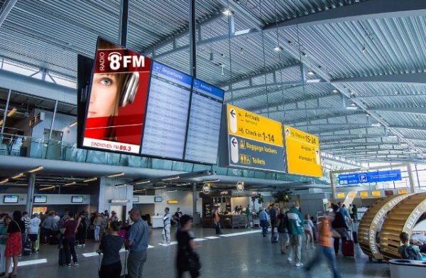 Radio 8FM Airport Timelapse